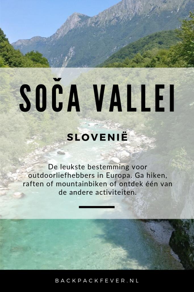 Pin it! Soča Vallei Slovenië