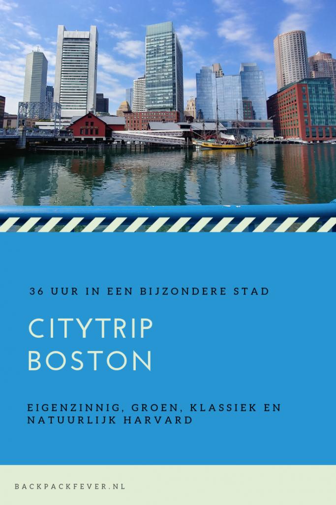 Pin it! | Citytrip Boston