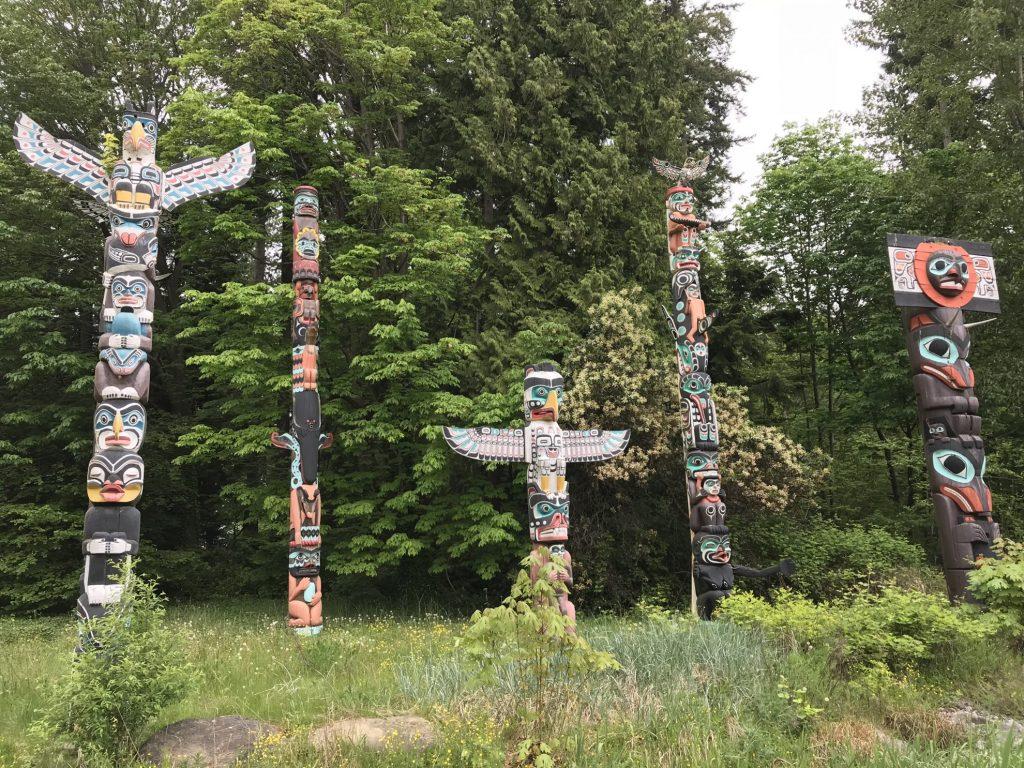 Vancouver Stanley Park Totem Poles