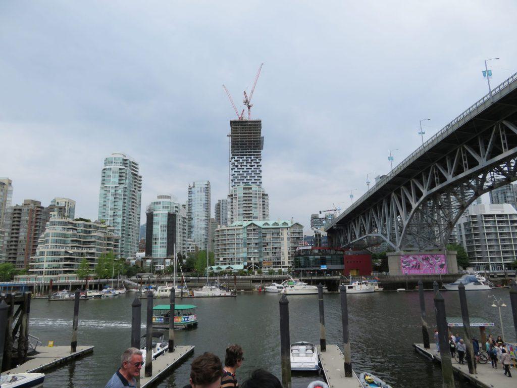 Vancouver Skyline vanaf Granville Island