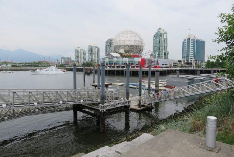 Vancouver - Seaside Fietspad + Telus Science Center