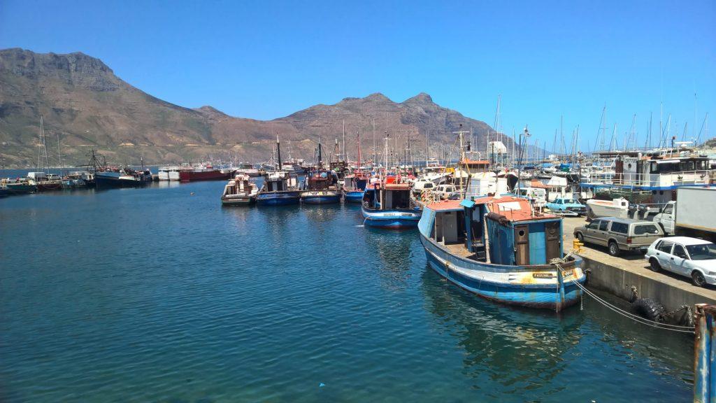 Houtbaai: vissersbootjes