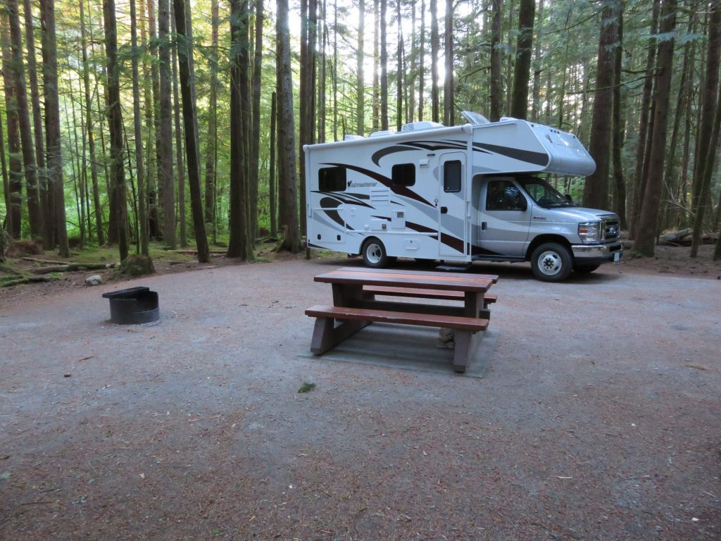 Route Camperreis West-Canada | BC Parks | Alice Lake Provincial Park