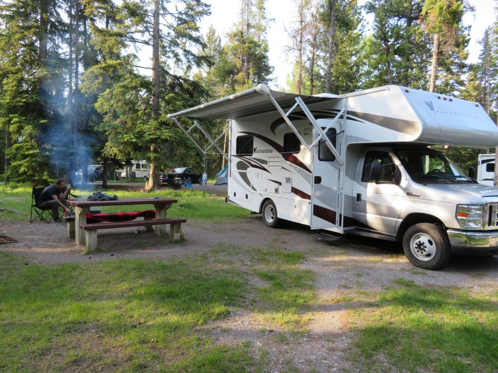 Banff National Park | Tunnel Mountain 1 Campground