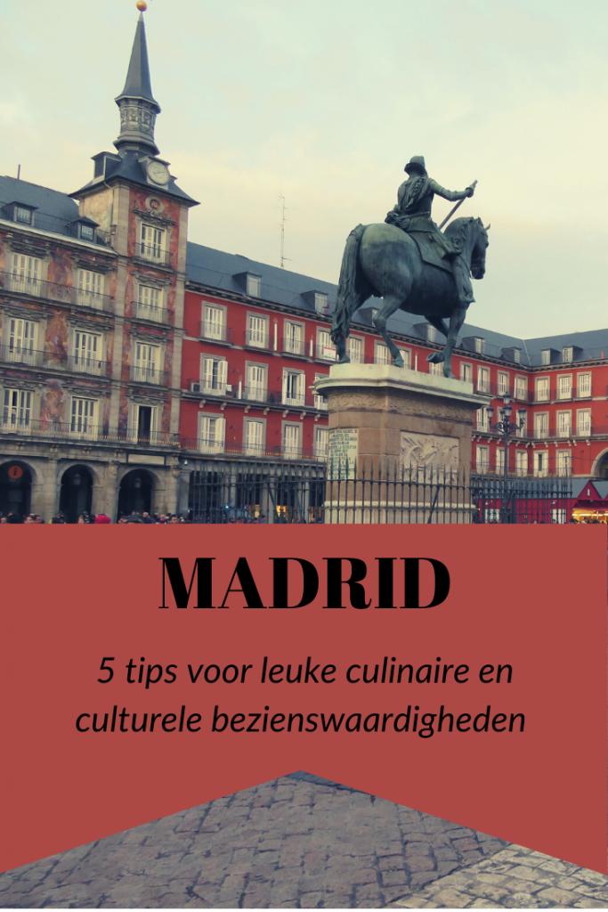 PIn it! Bezienswaardigheden Madrid