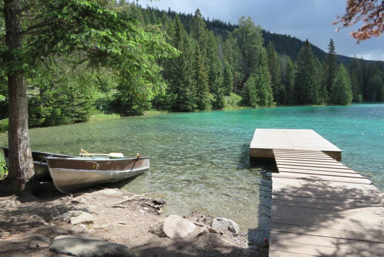 Hikes in Jasper en Banff: Valley of the five lakes | fifth lake