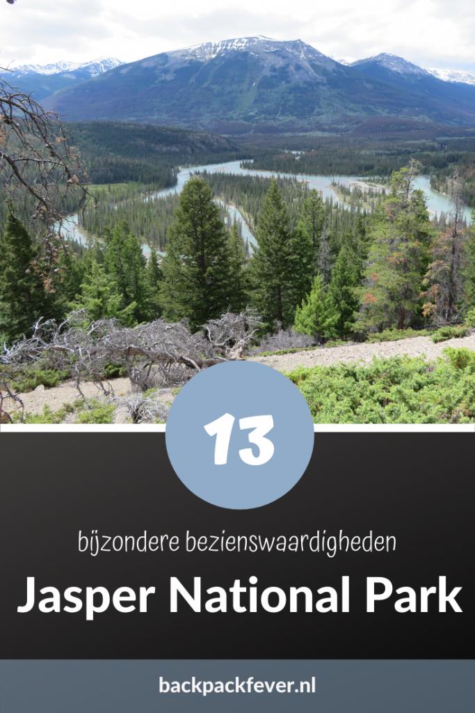 Pin it! |13 bijzonder bezienswaardigheden in Jasper National Park Canada