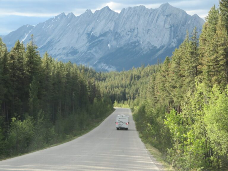 Route camperreis West-Canada