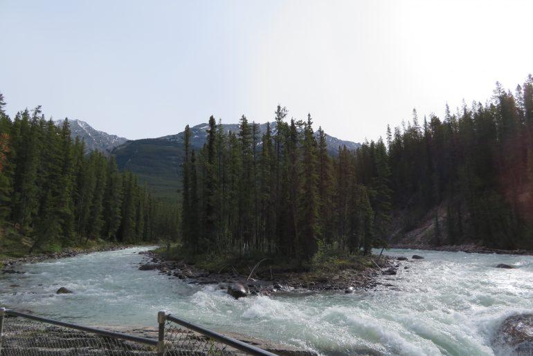 Sunwapta Falls | Icefields Parkway | Jasper National Park