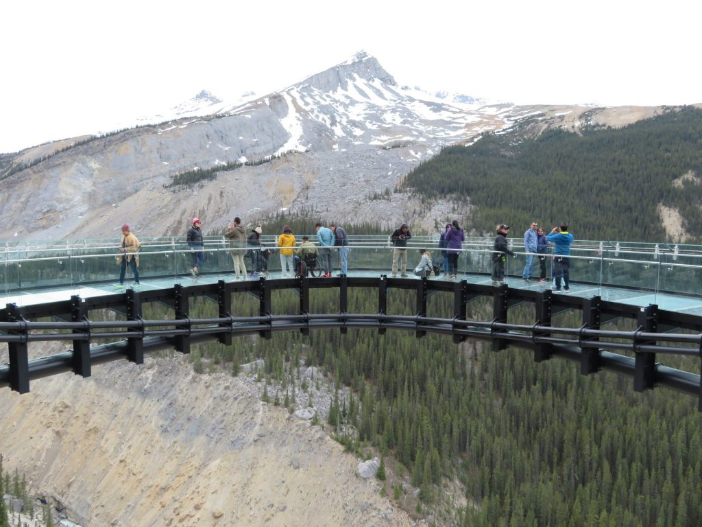 Glacier Skywalk | Icefields Parkway