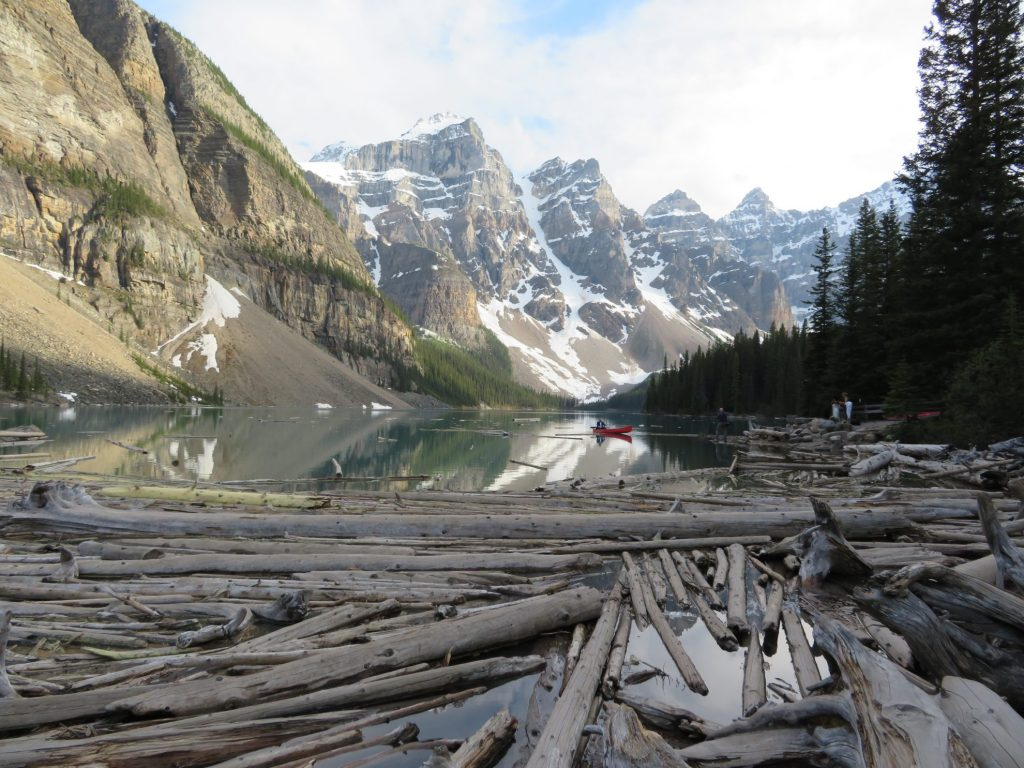 Route Camperreis West-Canada | Moraine Lake | Banff National Park | Lake Louise