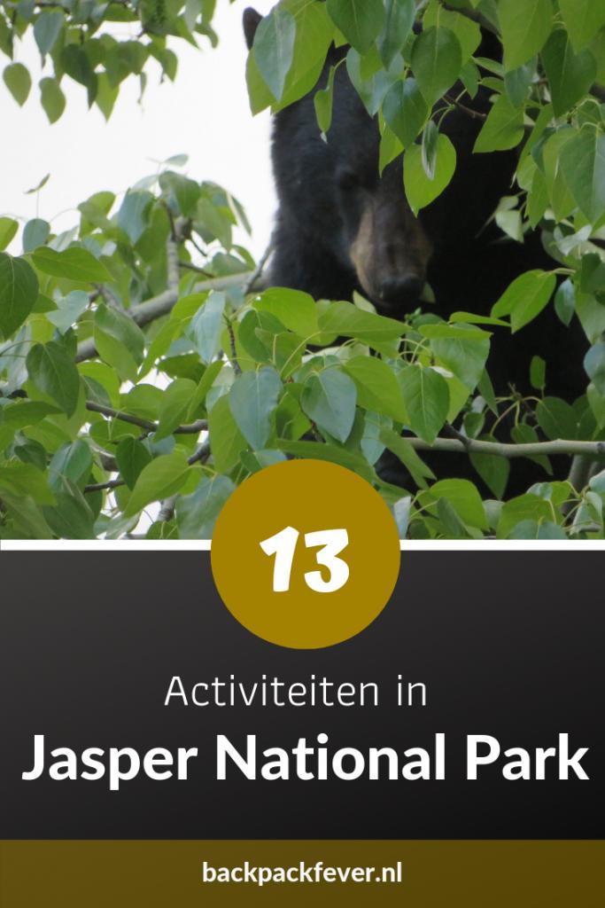 Pin it! |13 activiteiten in Jasper National Park