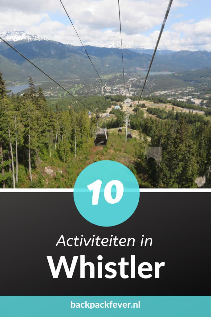 Pin it! | 10 Activiteiten in whistler
