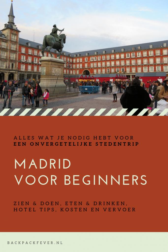 Madrid voor beginners - Pin it!