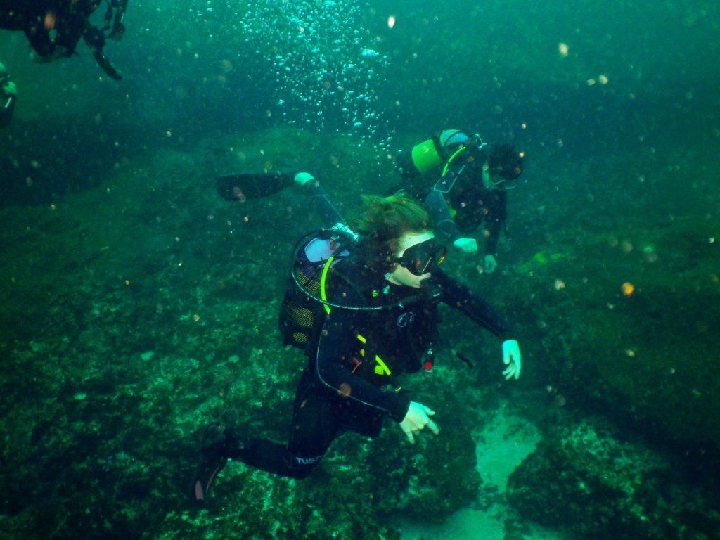 Leren duiken in Zuid-Afrika