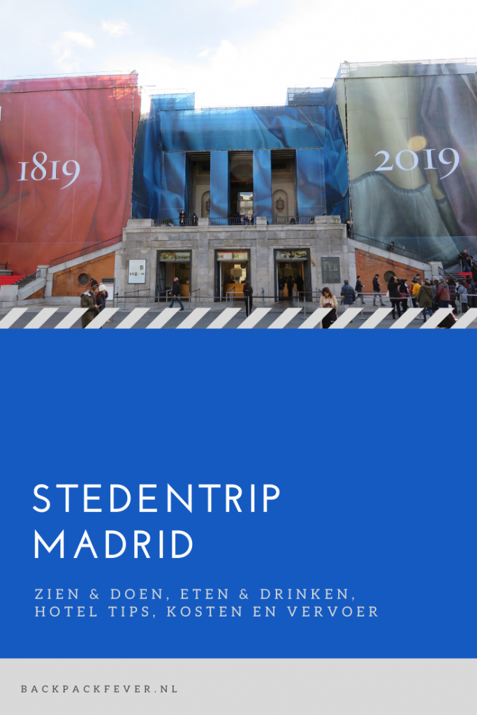 Pin it! Een onvergetelijke stedentrip Madrid