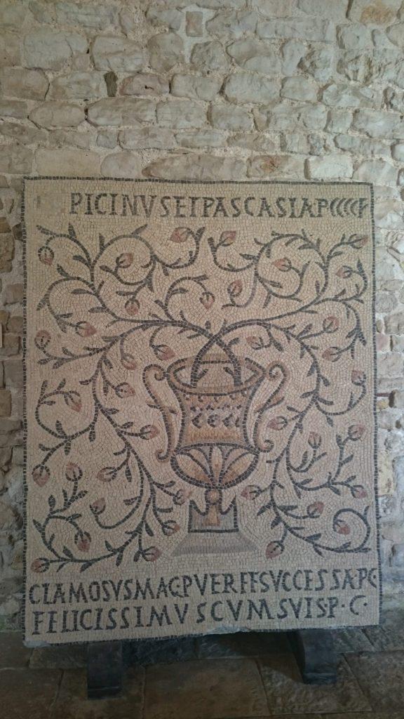 Mozaïek Eufrasiusbasiliek | Porec | Istrië | Kroatië