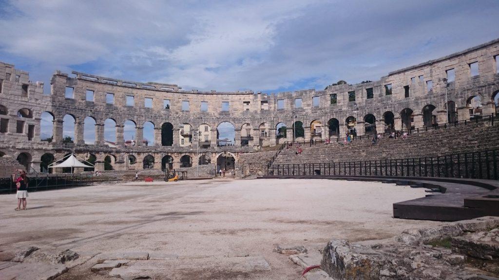 Pula Arena Binnen