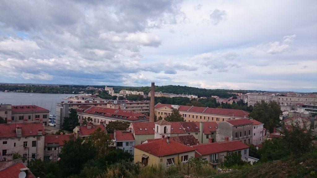 Citadel Pula uitzicht | Istrië | Kroatië