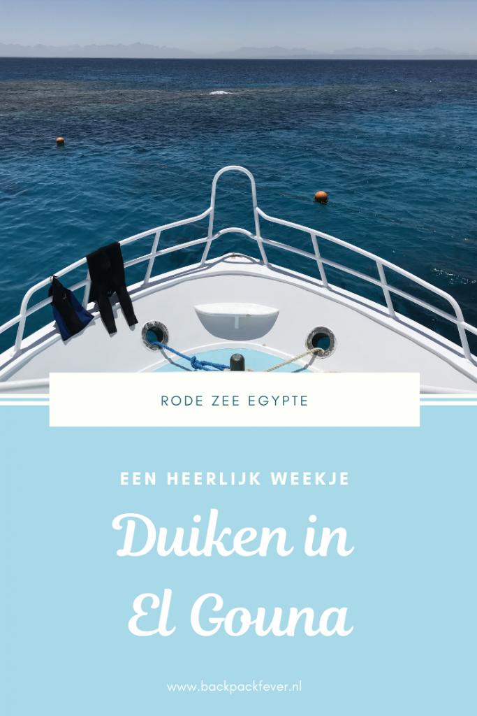 Pin it! Een heerlijk weekje duiken in El Gouna Egypte