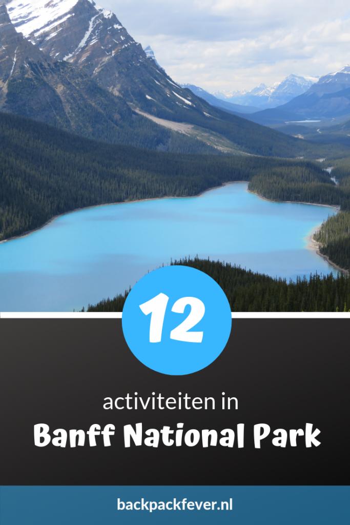 Pin it! 12 activiteiten in Banff National Park