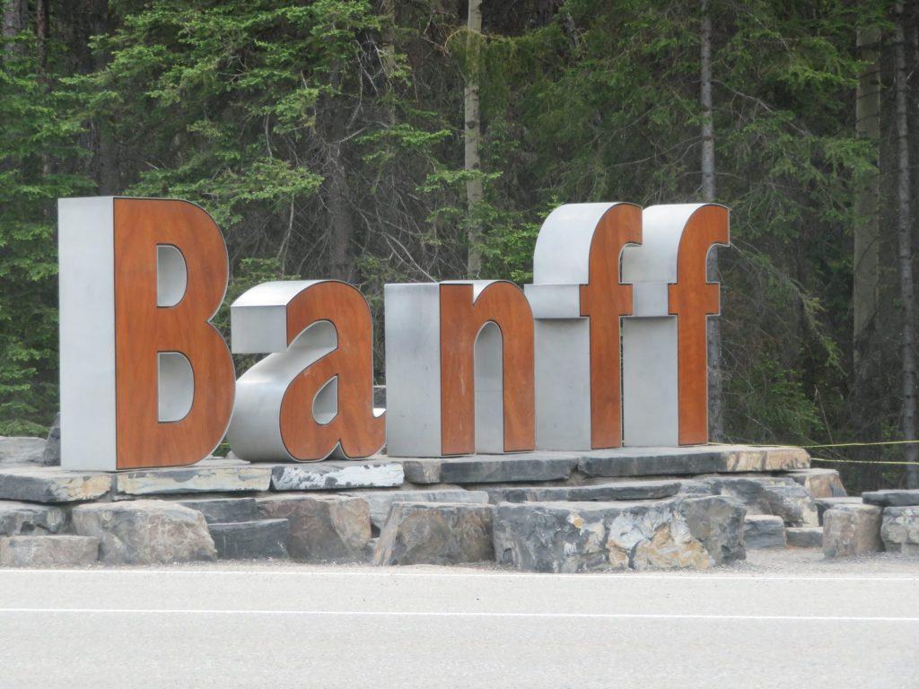 Welkom in Banff