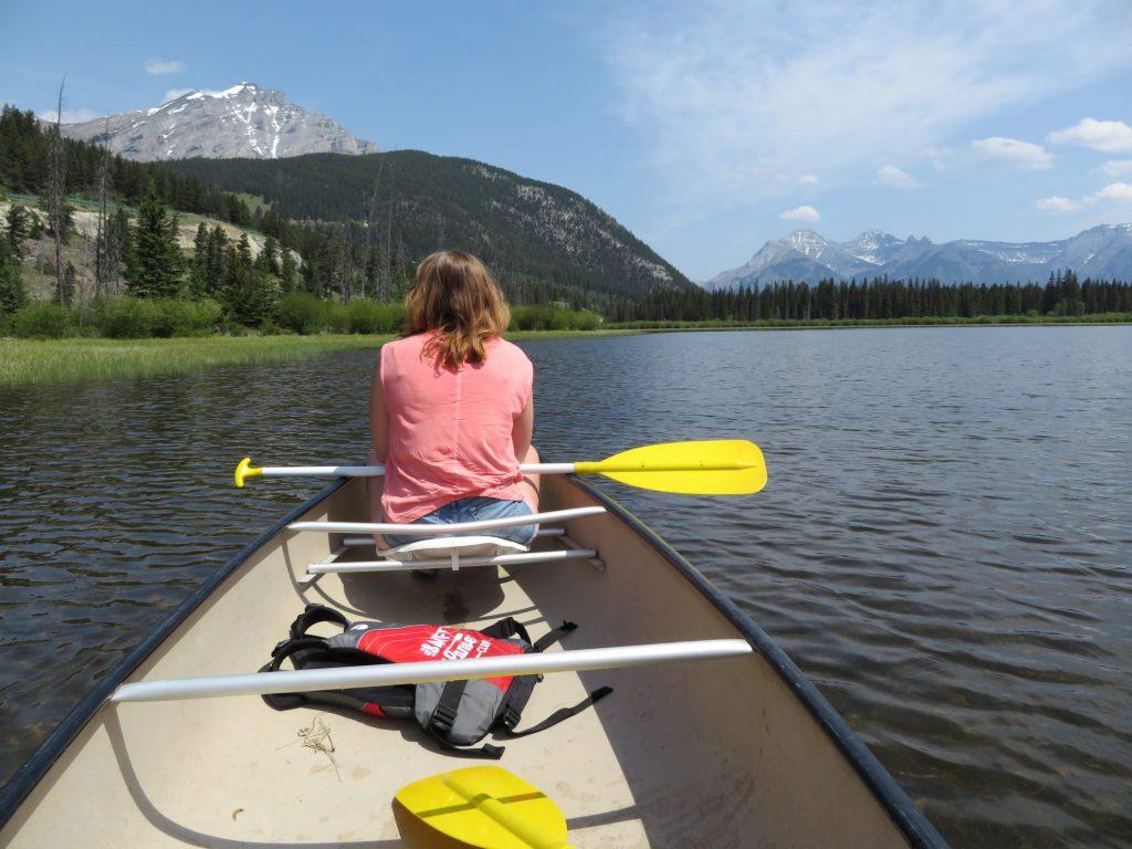 Kanoën op Vermillion Lakes | Banff National Park