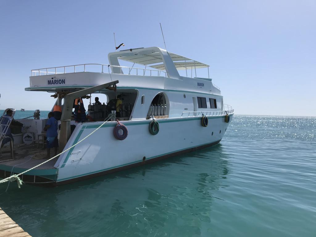 Duiken in El Gouna | onze boot