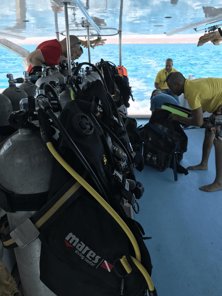 Duiken in El Gouna | onze duikuitrusting