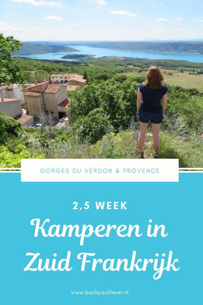 Pin it! Kamperen in Zuid Frankrijk