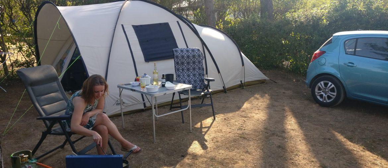 Kamperen met de tent | Fontvieille | Provence | Frankrijk