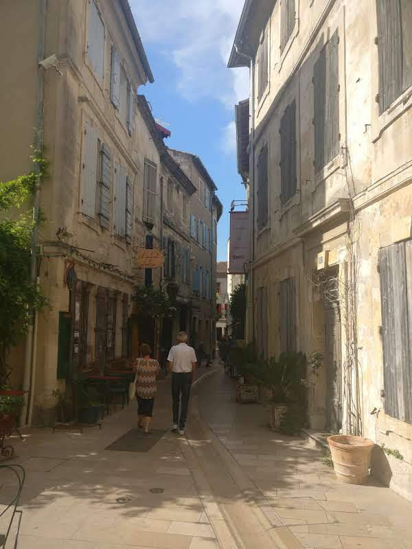 Saint-Remy de Provence   Kamperen in Zuid Frankrijk