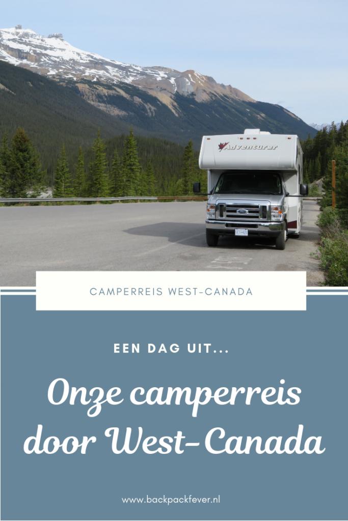Pin it! Een dag uit onze camperreis West-Canada