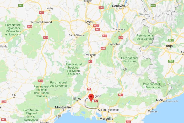 Waar liggen Les Alpilles | Provence | Zuid Frankrijk