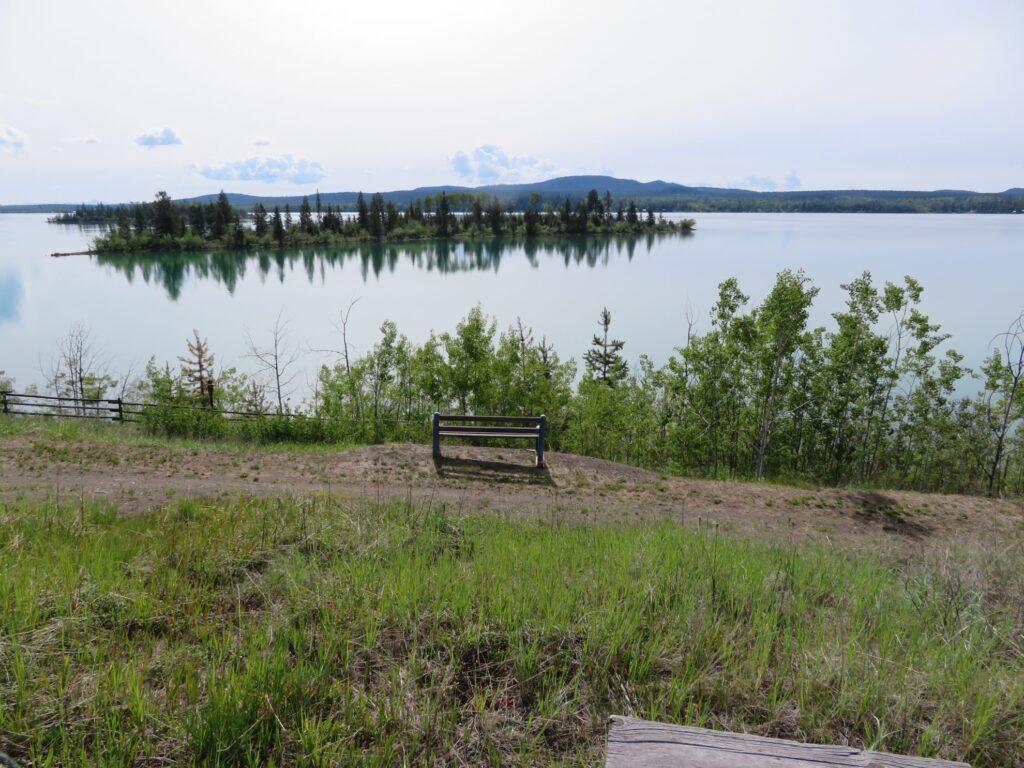 Een dag uit onze camperreis West-Canada | Fotomoment Green Lake Provincial Parks