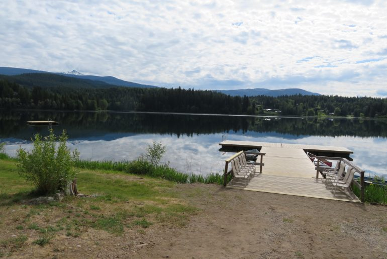 Een dag uit onze camperreis West-Canada | Dutch Lake campground