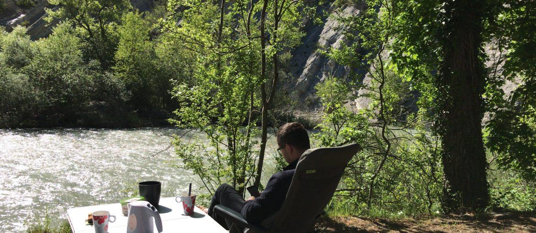 Kamperen in de Gorges du Verdon