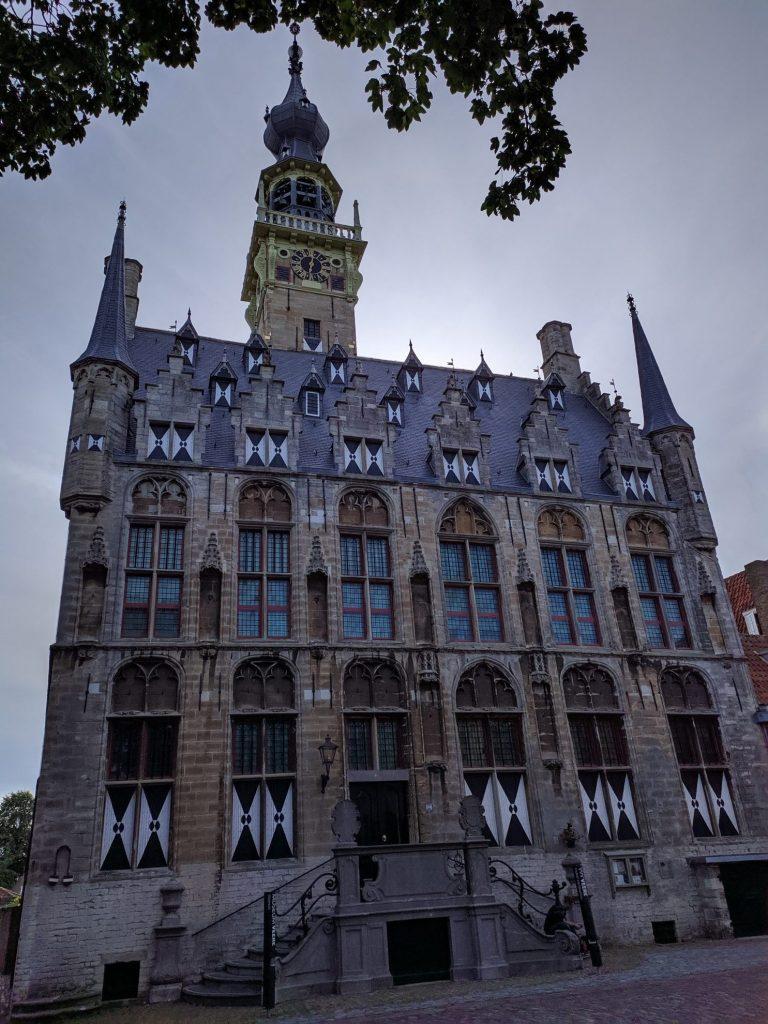 Het oude gemeentehuis in Veere | Zeeland