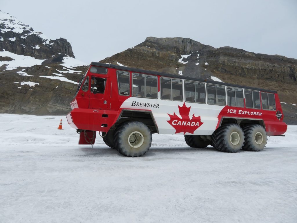 Columbia Icefields | Athabasca Glacier | Glacier Truck