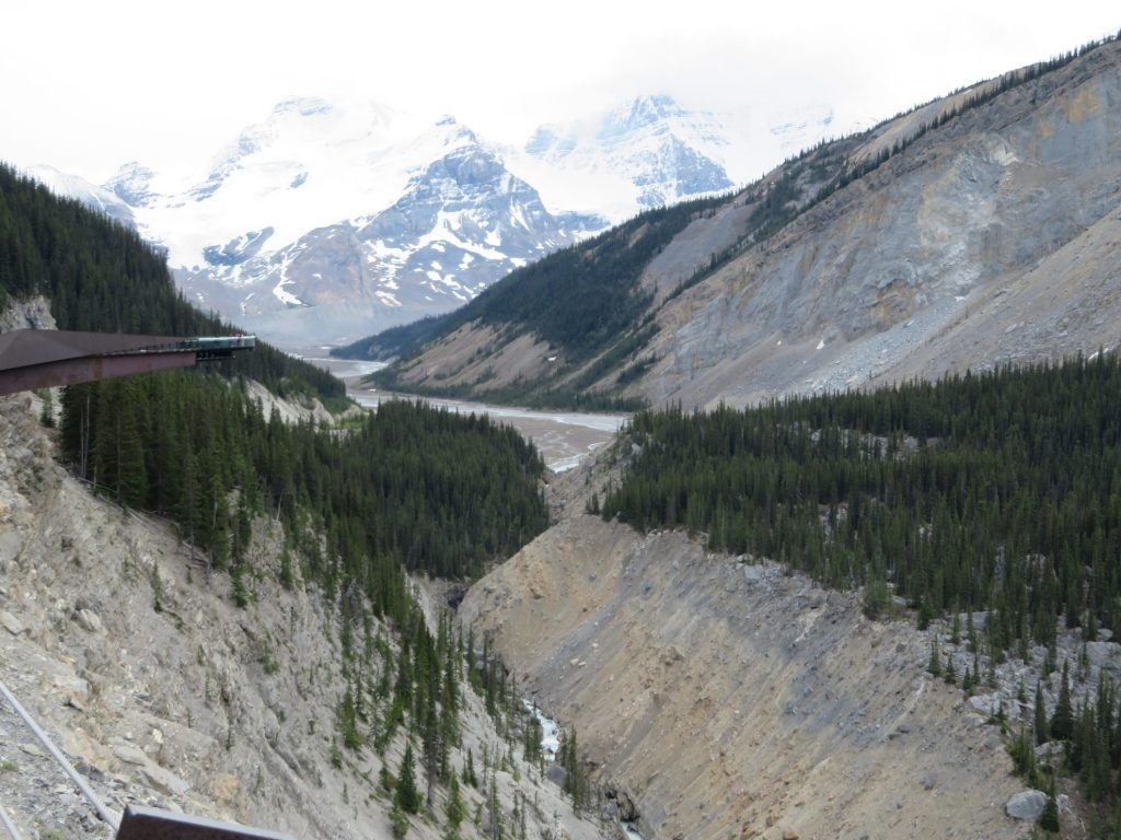 Glacier Skywalk | Athabasca valley