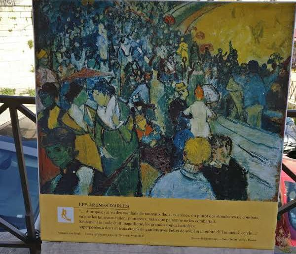 Les Arènes d'Arles | Vincent van Gogh