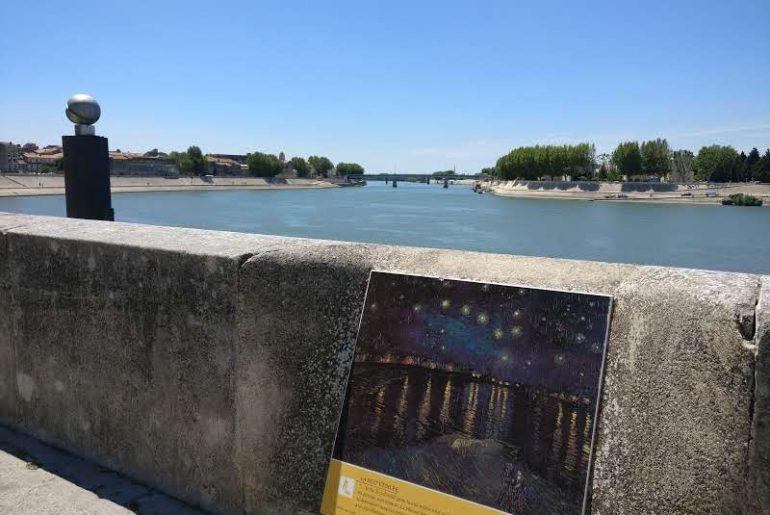 Sterrennacht boven de Rhône | Vincent van Gogh