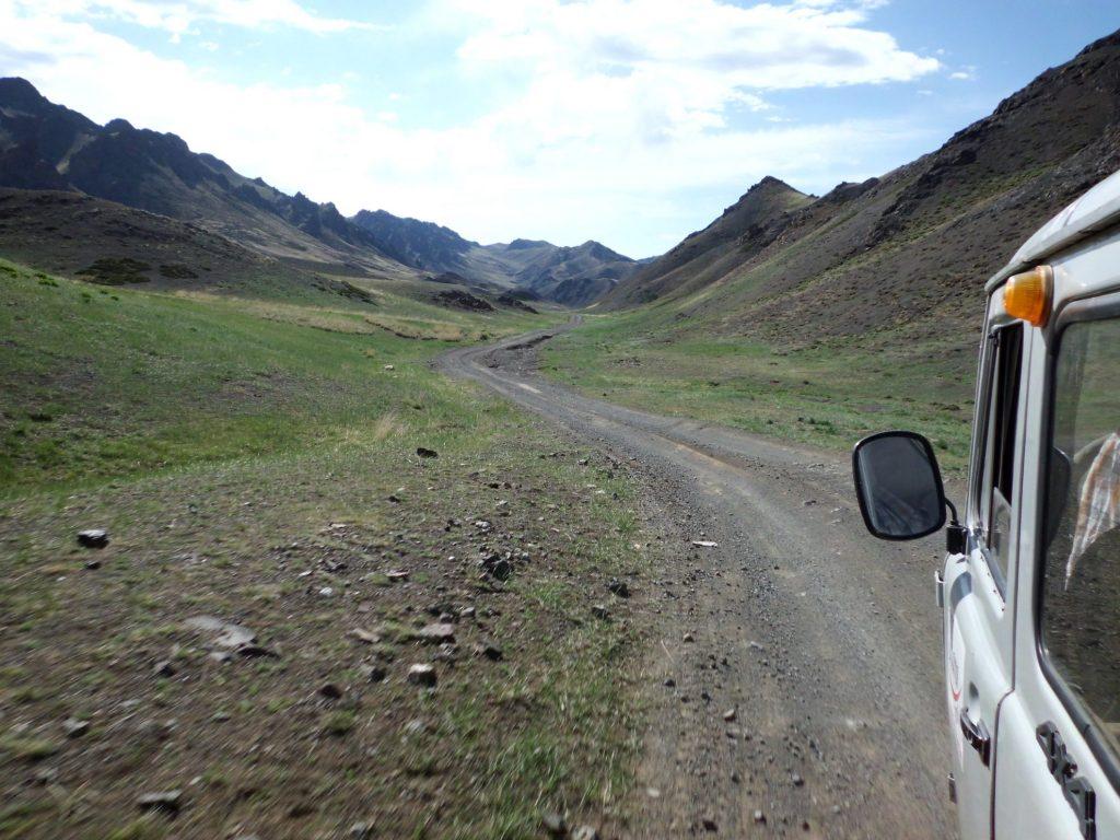 Bergen in het zuiden van Mongolië