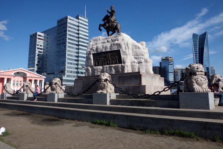 Standbeeld Genghis Khan | Ulaanbaatar | Mongolië