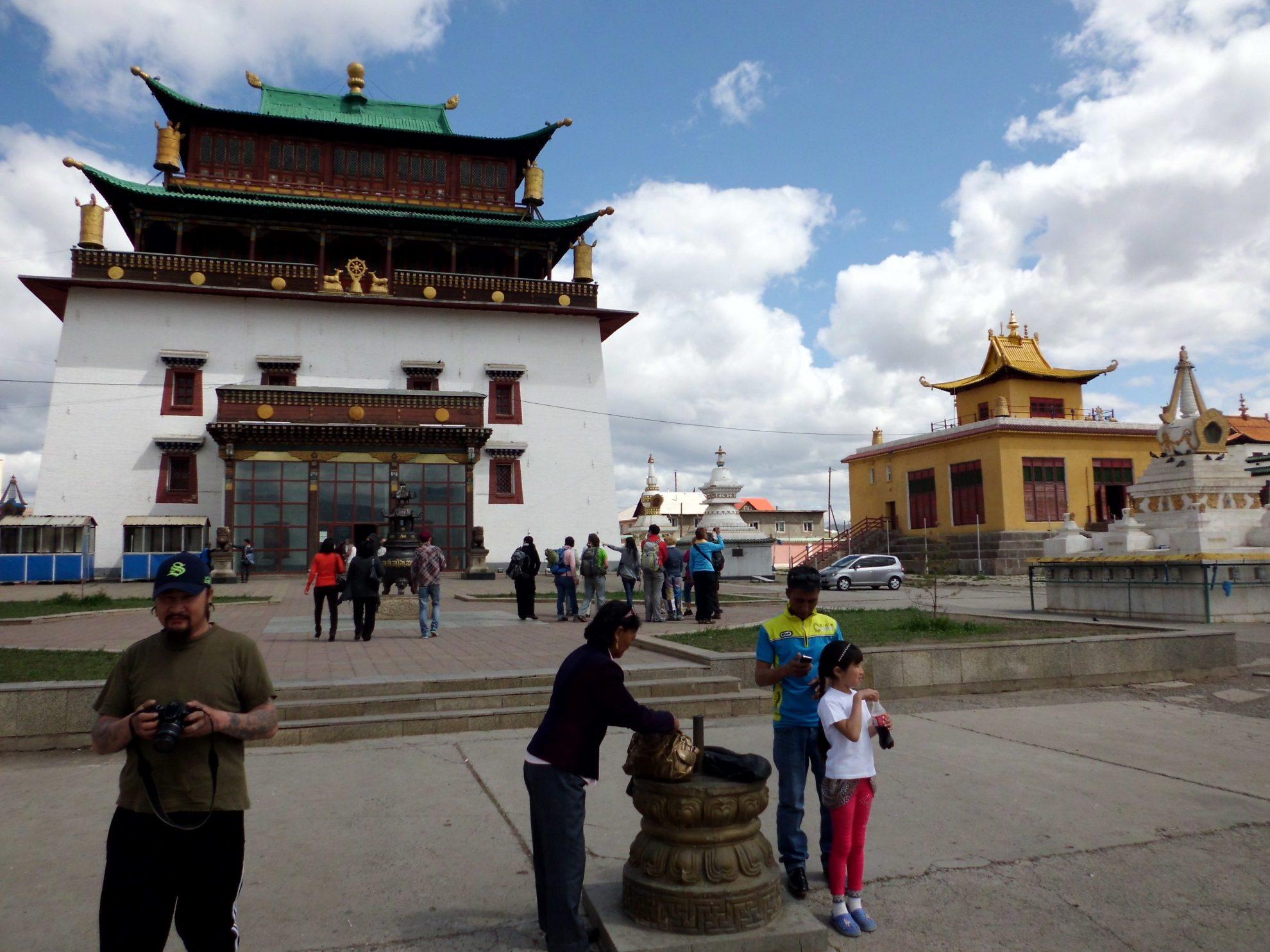 Gandantegchinlen Klooster | Ulaanbaatar | Mongolië