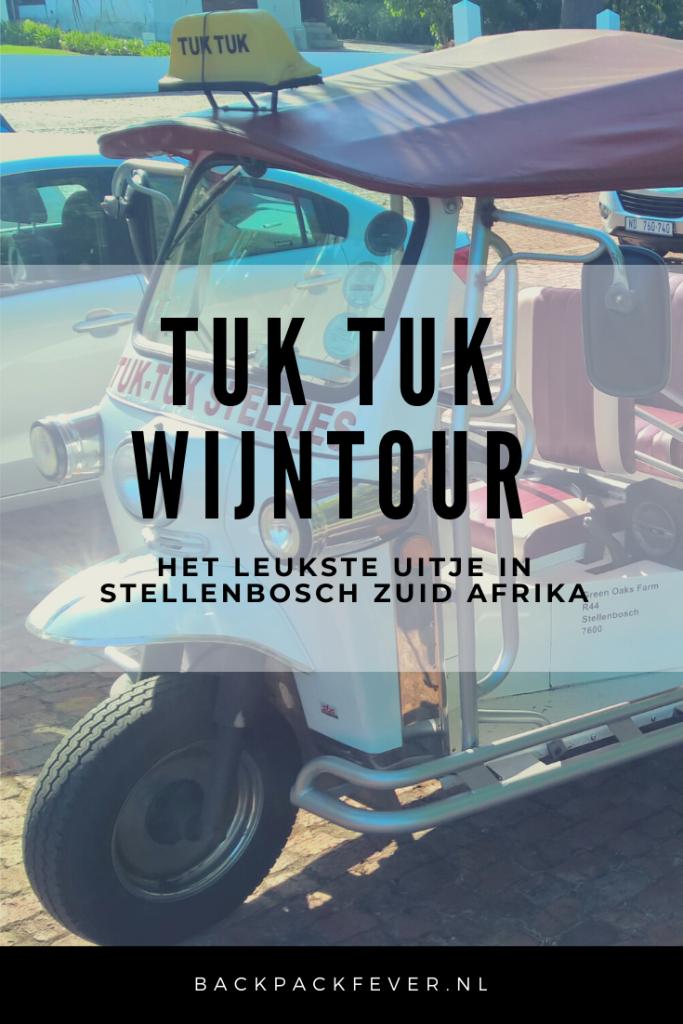 Pin it! Doen in Stellenbosch: De lekkerste wijnen proeven tijdens een tuk tuk tour