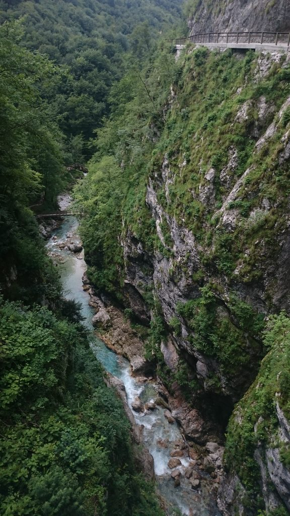 Tolmin Gorge | Devil's Bridge