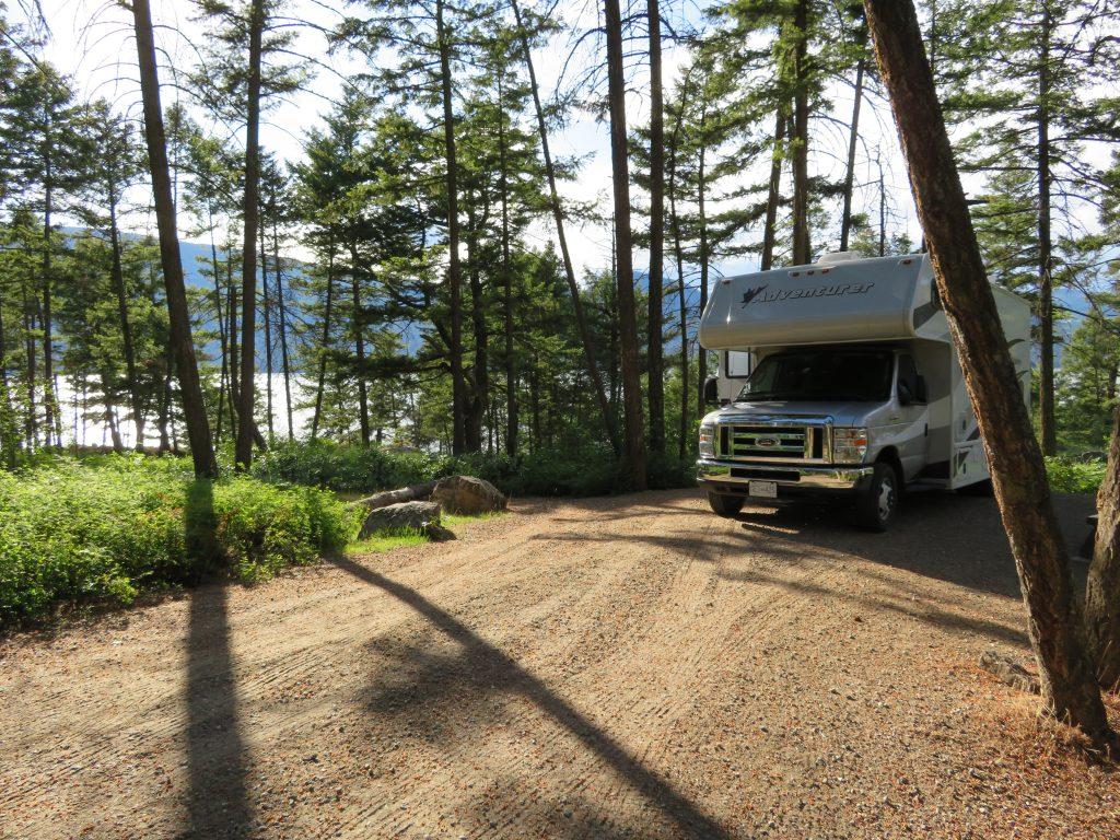 Wat kosten 21 overnachtingen op Canadese campings?