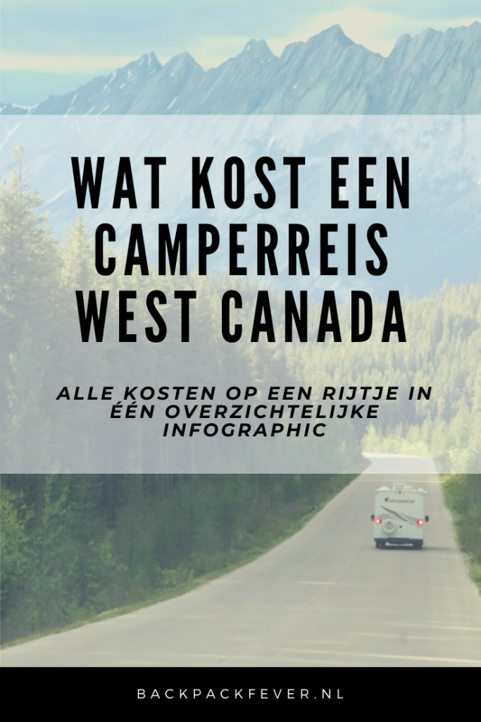 Pin it! Wat kost een camperreis door West Canada?
