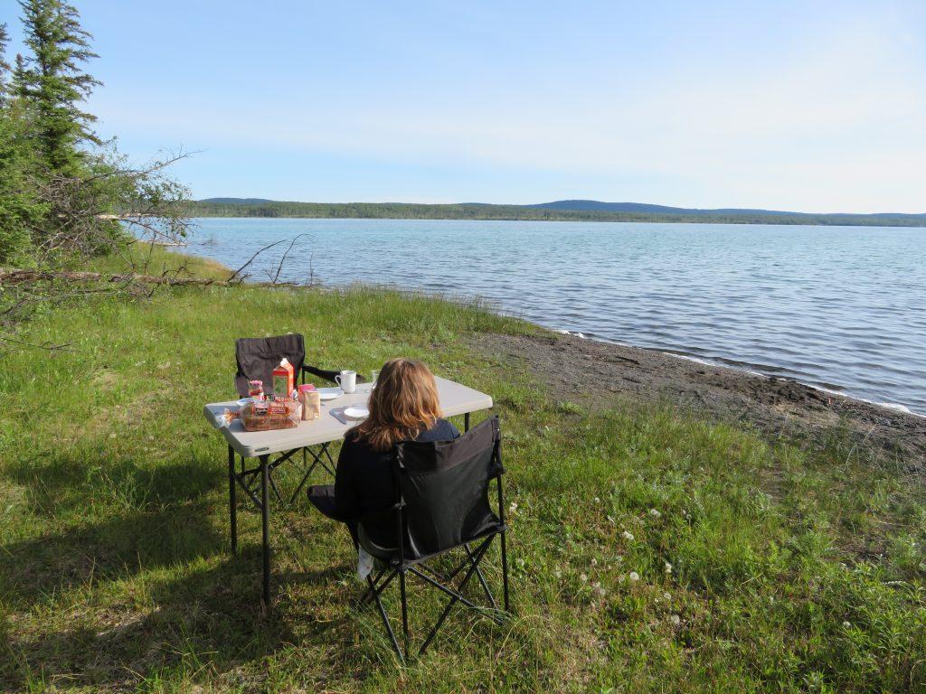 Ontbijten in Green Lake Provincial Parks